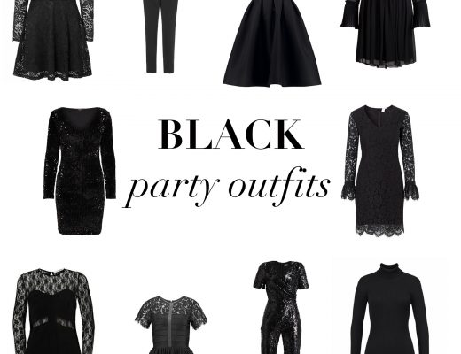 Black party outfits By ThehouseofKelly.com